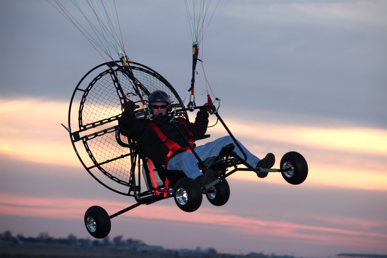 Utah Powered Paragliding Paramotor Quad Package Deal
