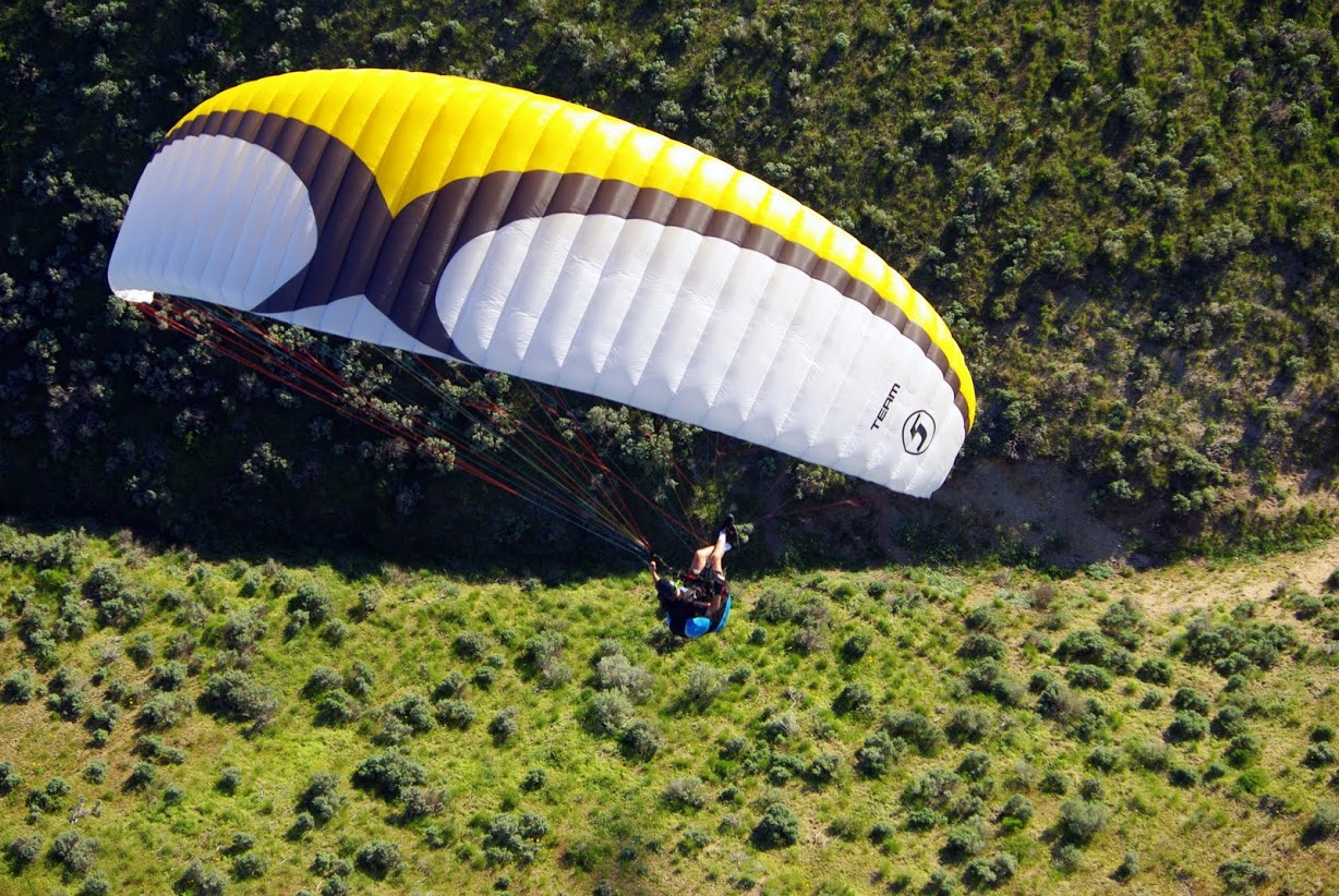 how to fly a powered paraglider