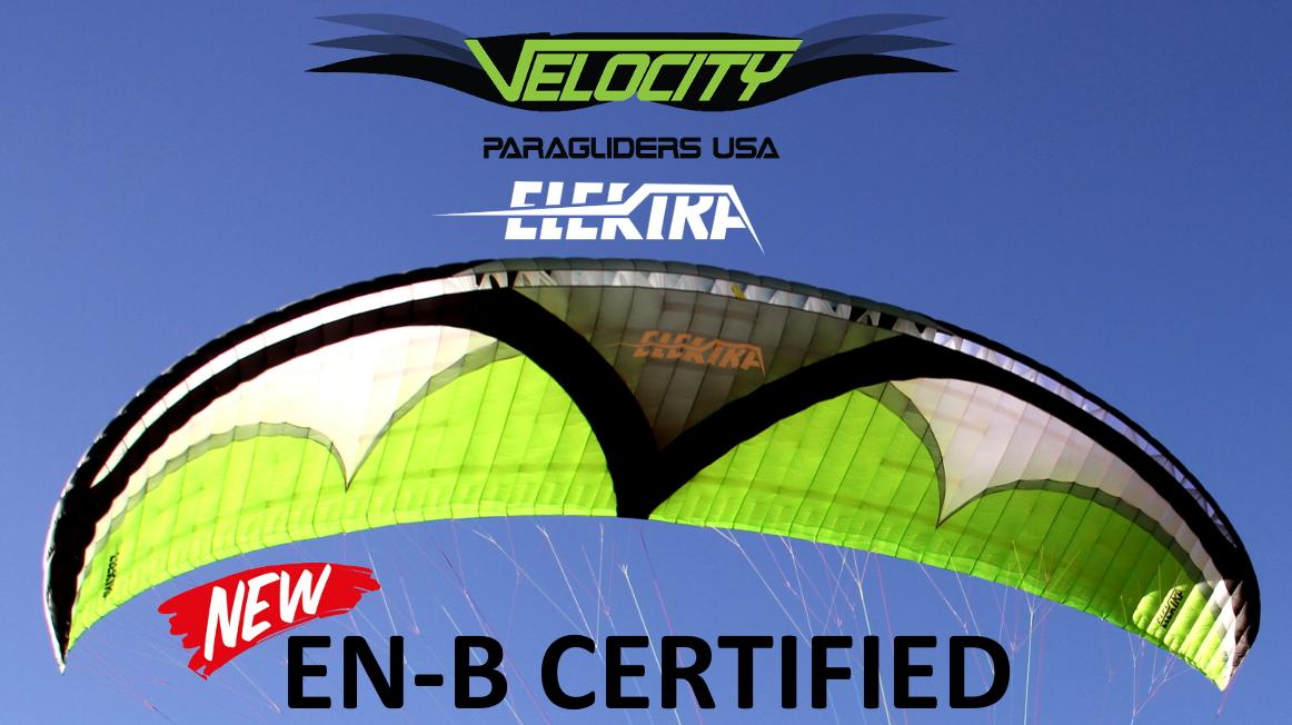 Utah Powered Paragliding Velocity Elektra Paraglider