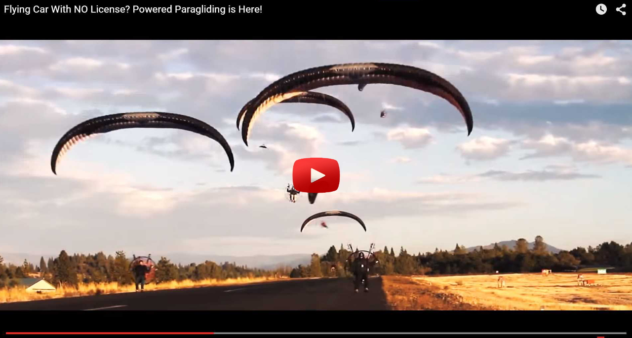 Flying Cars? The Paramotor is HERE! – Utah Powered Paragliding