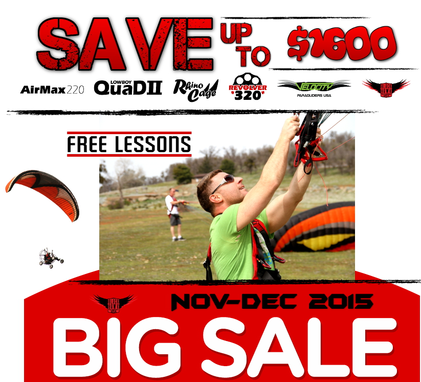 Utah Powered Paragliding Paramotor BlackHawk Lessons Dealer Sale (9)