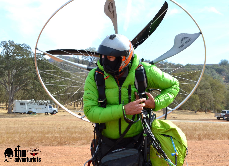 Utah Powered Paragliding Paramotor Race BlackHawk Paramotor